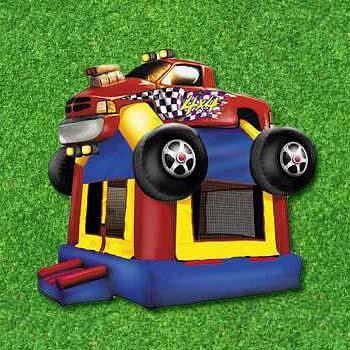 Monster Truck Inflatable Rental